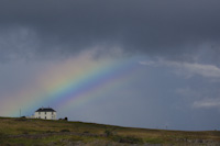 Rainbow over Iona